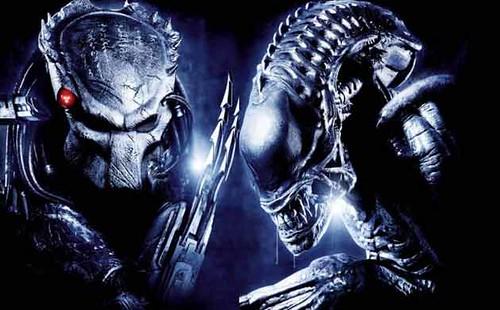 aliens y predators por ti.