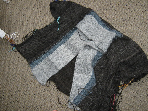 Experimental Sweater reknit