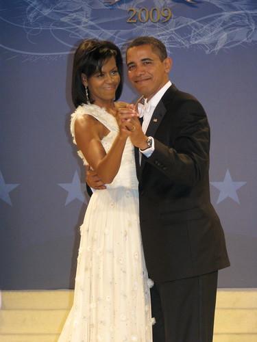 President Barack Obama & First Lady Michelle Obama