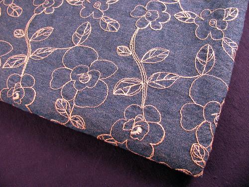 Embroidered-Denim