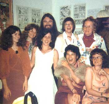 The women of Wimmen's Comix