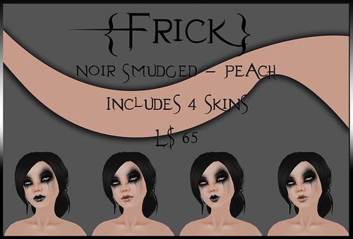 Noir Smudged - Peach