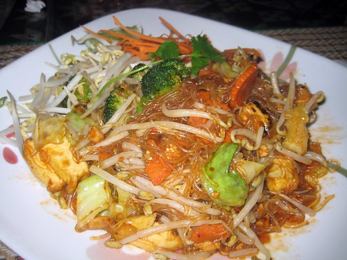 Pad Thai Woon Sen - Vegan