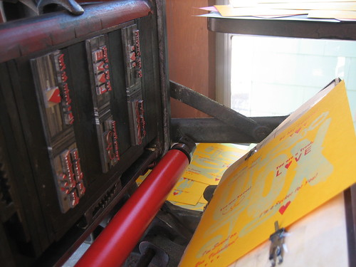 Printing with a Letterpress