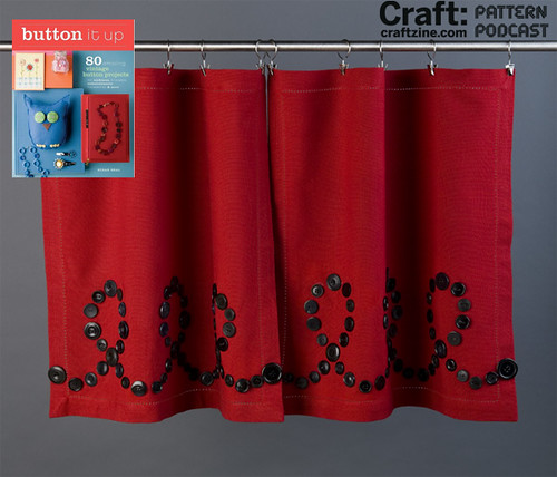 Loop-d-Loop Button Curtains on CRAFT today!
