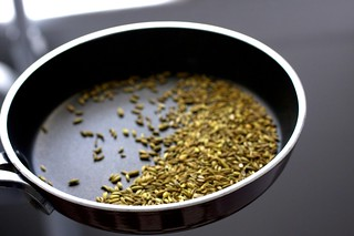 toasted fennel seeds