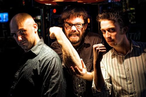 Batterymouth: Mark Walkley, Zack Whittington and Dave Urlakis.