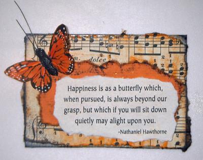 butterfly artist trading card (c) 2009, Lynne Medsker