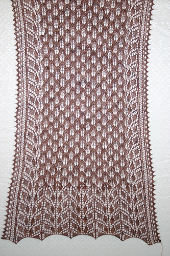 Bleeding Hearts Stole, blocked