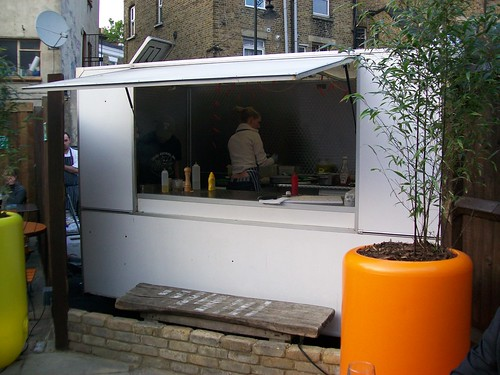 The Meatwagon, parked up in Herne Hill