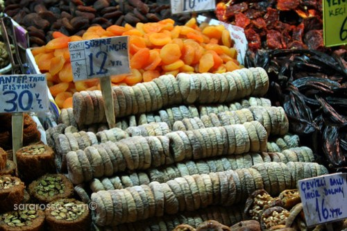 Dried Figs, Spice Bazaar, Istanbul