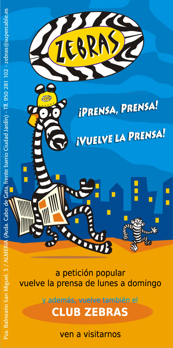 Zebras Flyer Prensa DEF