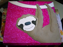 work in progress 20090507 sloth F
