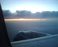 Taking Off From LGB Into the Sunset