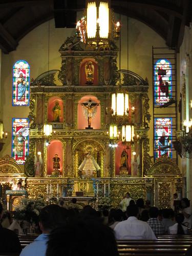 church retablo