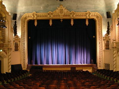 New stage curtains at the 7th Street