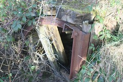 Air Raid Shelter in Mine Spoil