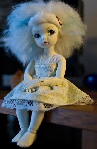 beyla's new dress