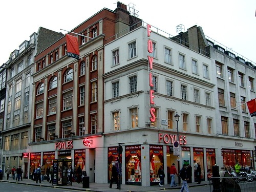 Foyle's (Soho WC2), formerly The Rose and Crown