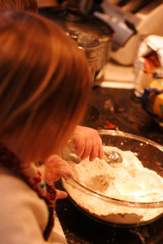 waffle making!