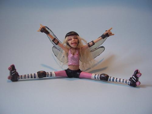 Roller Derby Fairy