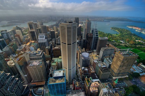 From the Sydney Tower
