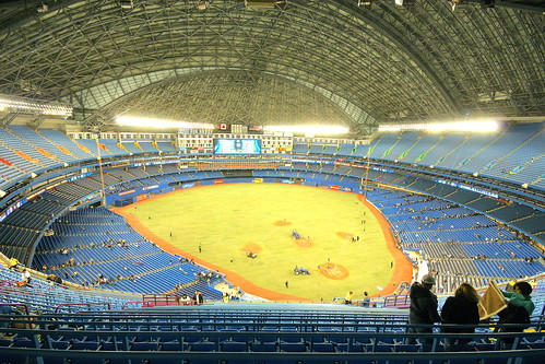 Skydome...not Rogers Centre...blecchh