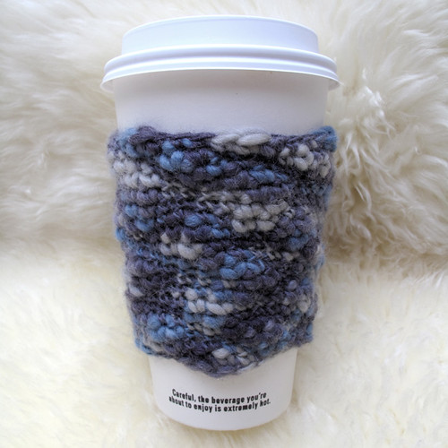100% wool coffee cup cozy
