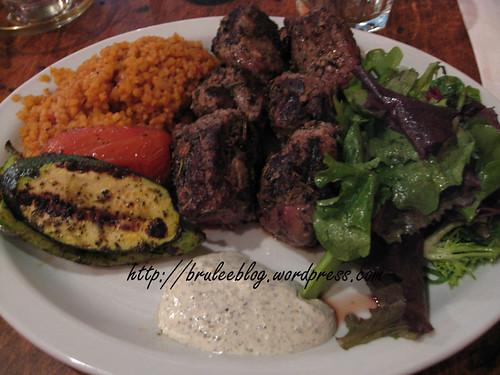 Kuzu Sis Kebab (lamb)