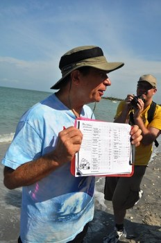 Dr. Beach and Hist 50 Beach Rating Criteria Sheet, Stump Pass Near Palm Island Resort, Fla.