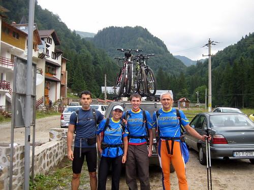 Getica team for Carpathian Adventure