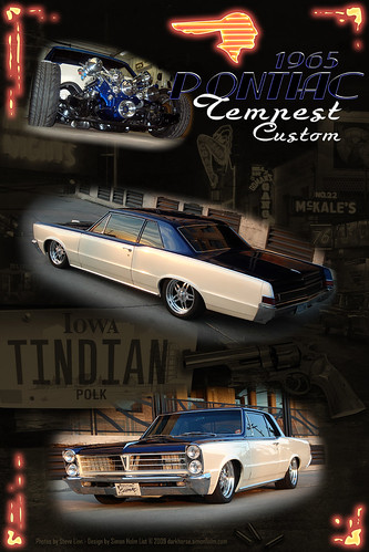 Steve's 65 Pontiac Tempest Custom Poster