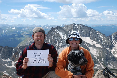 Huron Peak and a Congratulations