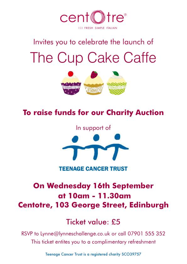 Cup Cake Caffe Charity Auction