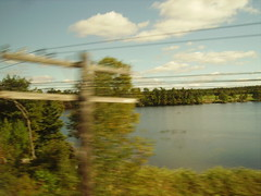 from the canada train
