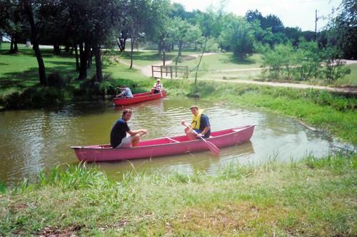 CanoeDayinPond