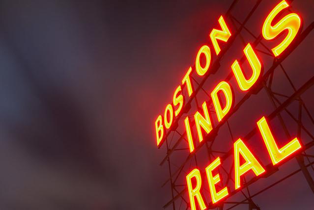 boston (wharf) indus(trial) real (estate)
