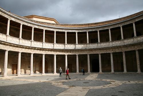 Palace of Charles V Patio