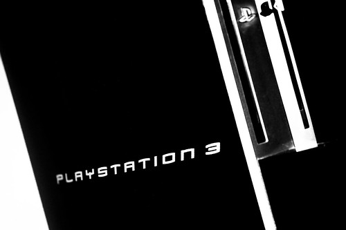 Playstation 3 in dark city
