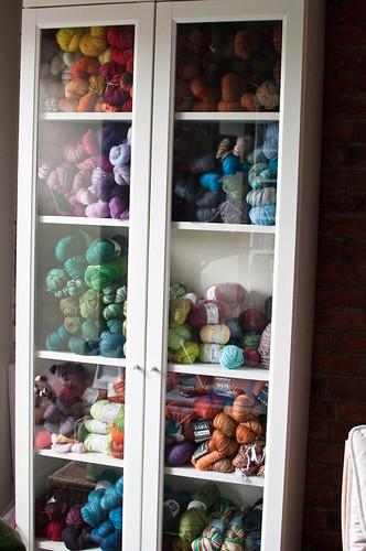 My Yarn Stash