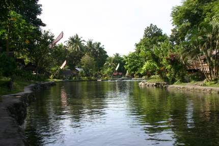 The cold Olaer Springs Resort invites you