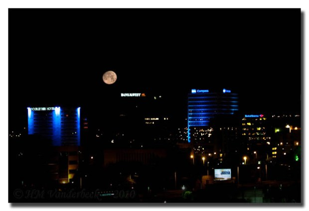 Downtown Full Moon