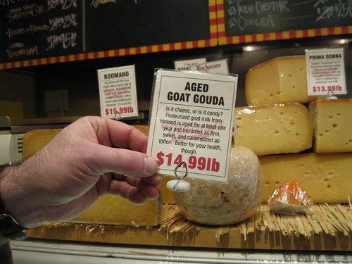 Goat Gouda Label