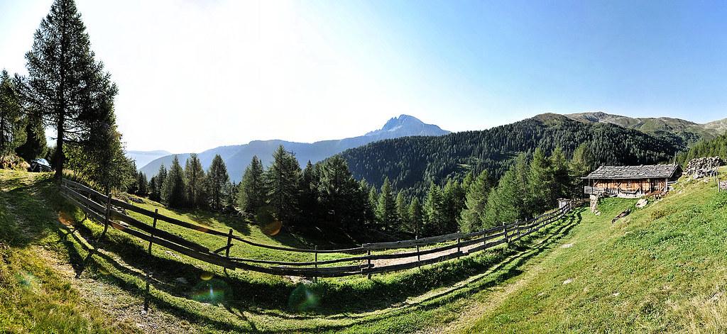 Alpine Hut Panorama