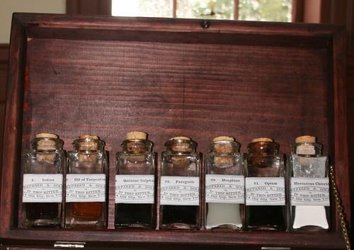 Civil War medicine chest