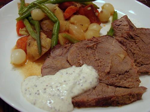 Dinner:  February 1, 2009