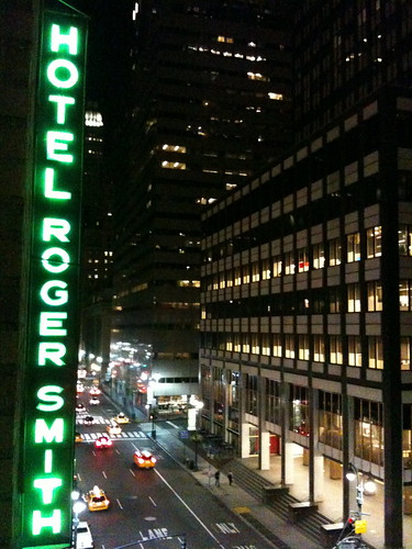 Roger Smith Hotel Marquee, NYC Night