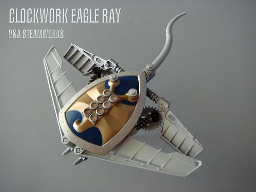 LEGO steampunk eagle ray