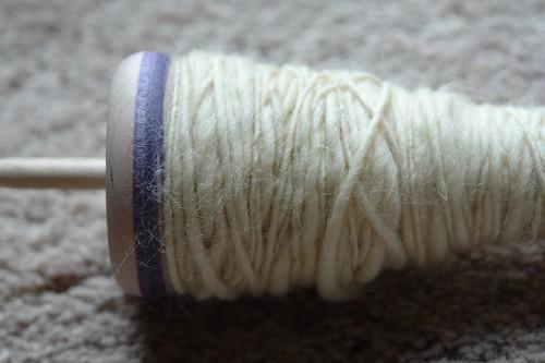 I made yarn!