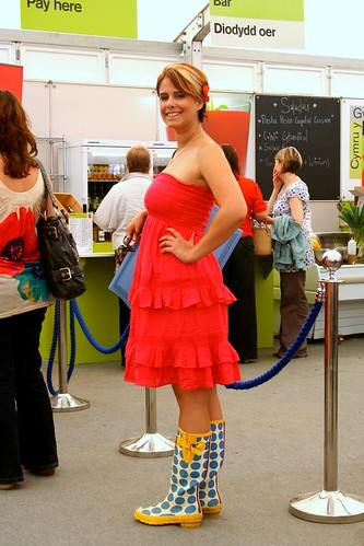 Wellies and a Dress @ the Eisteddfod